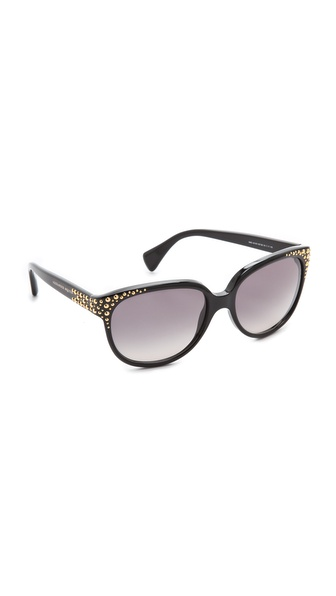 Alexander McQueen Oversized Studded Sunglasses