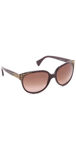 Shop Alexander McQueen Oversized Studded Sunglasses and Alexander McQueen online - Accessories,Womens,Sunglasses,Other, online Store
