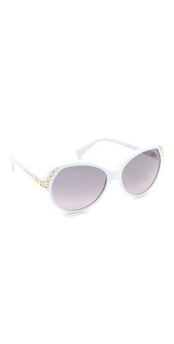 Alexander McQueen Glam Studded Sunglasses