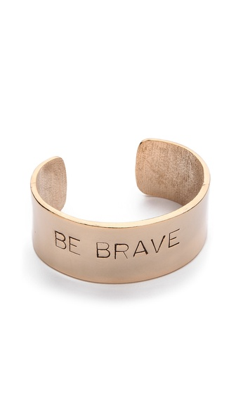 Alisa Michelle Designs Be Brave Bracelet