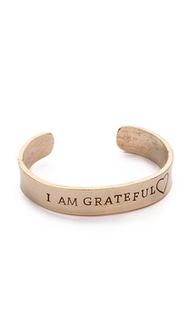 Alisa Michelle Designs I Am Grateful Bracelet