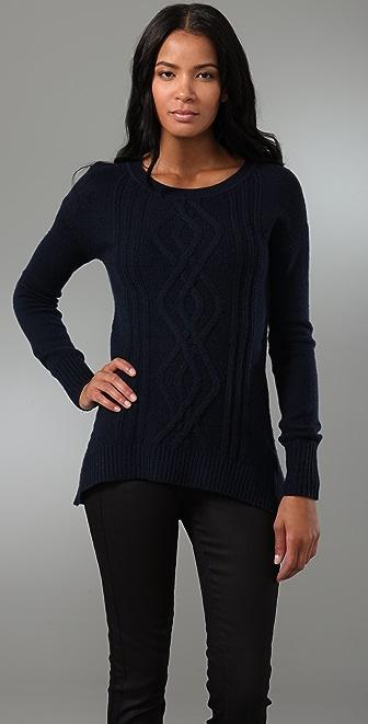 Ami Dans La Rue Cable Pullover Sweater