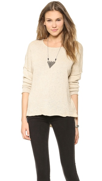 Ami Dans La Rue The Apres Beach Sweater - Sand Castle at Shopbop / East Dane