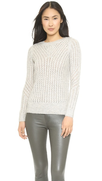 Ami Dans La Rue Wicker Boat Neck Sweater