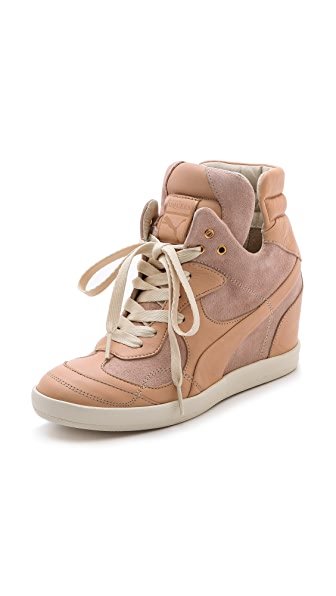 Alexander McQueen PUMA Ofeya Hidden Wedge Sneakers