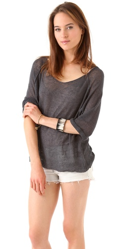 American Vintage Adams Scoop Neck Pullover