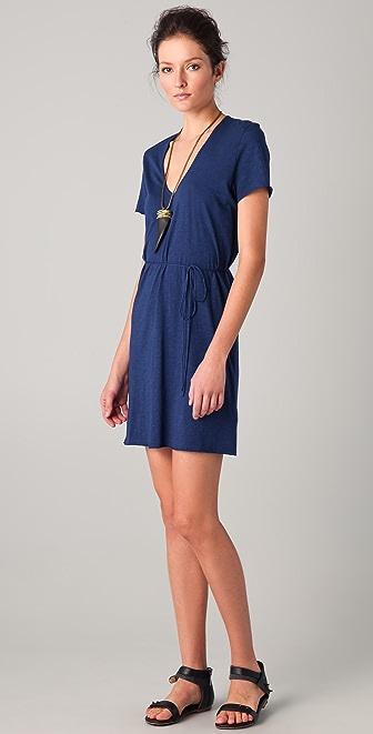 American Vintage Jacksonville V Neck Dress