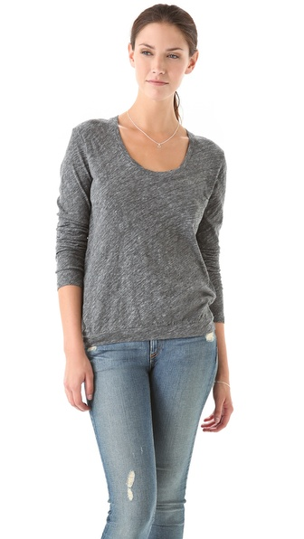 American Vintage Hot Springs U Neck Top