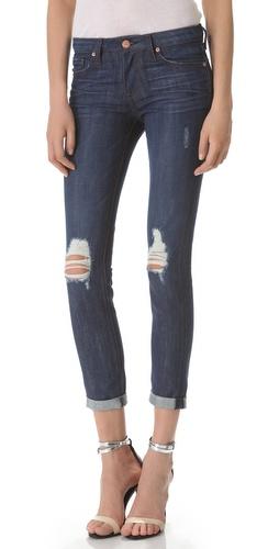 A.N.D. Bailey 250 Wears Rolled Skinny Jeans