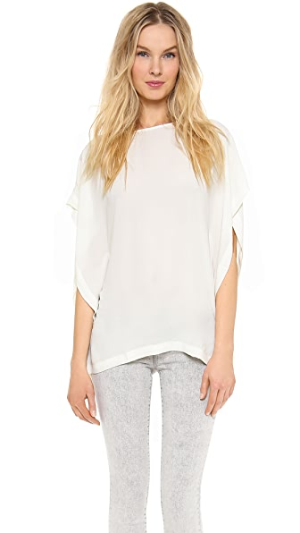 And B Drape Tee Blouse