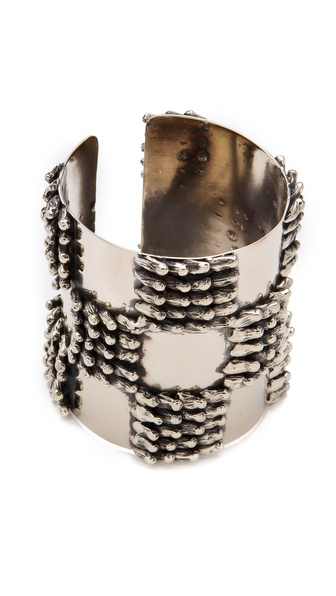 ANNDRA NEEN Checkered Seaweed Cuff