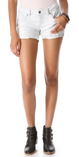 ANINE BING Distressed Shorts