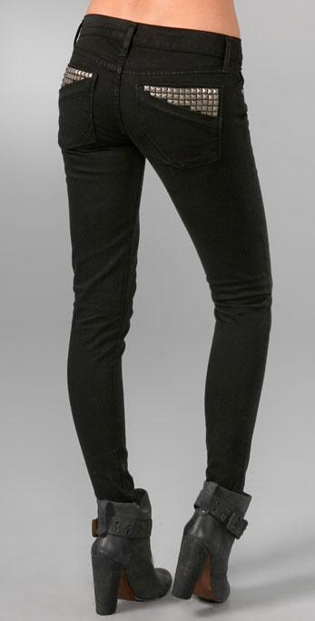 Anlo Ella Studded Skinny Jeans