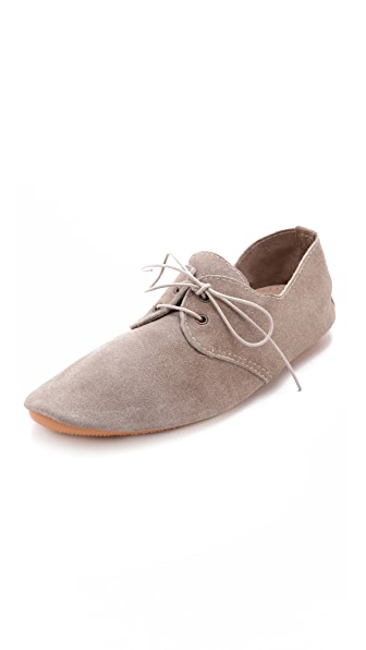 Anniel Soft Structure Suede Oxfords