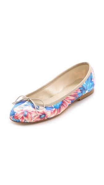 Anniel Floral Ballet Flats