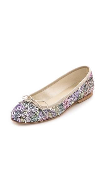 Anniel Glitter Ballet Flats