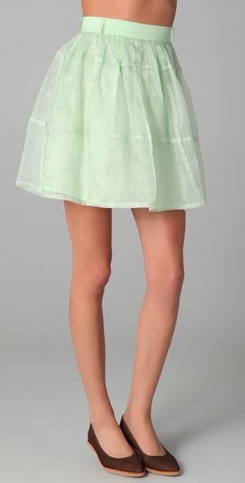 Antipodium Checker Skirt