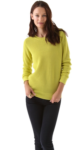 Antipodium Sporting Chance Perforated Pullover
