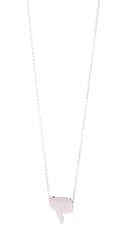 Antipodium Double Digits Pendant Necklace