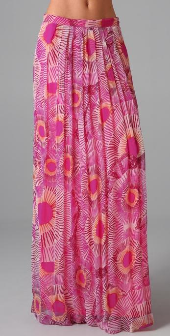 Antik Batik Kea Print Long Skirt
