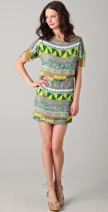Antik Batik Jacara Mini Dress