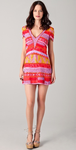 Antik Batik Jacara V Neck Dress