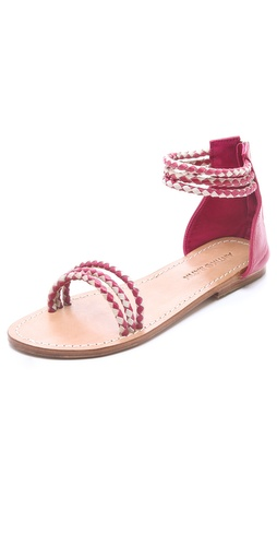 Antik Batik Dafne 3 Band Flat Sandals
