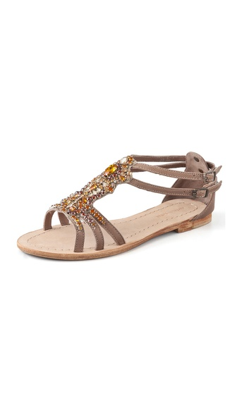 Antik Batik Moana Crystal-Embellished Sandals