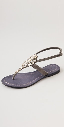 Antik Batik Sienna Crystal Thong Sandals