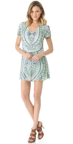 Shop Antik Batik Hampton V Dress and Antik Batik online - Apparel, Womens, Dresses, Day_to_Night,  online Store