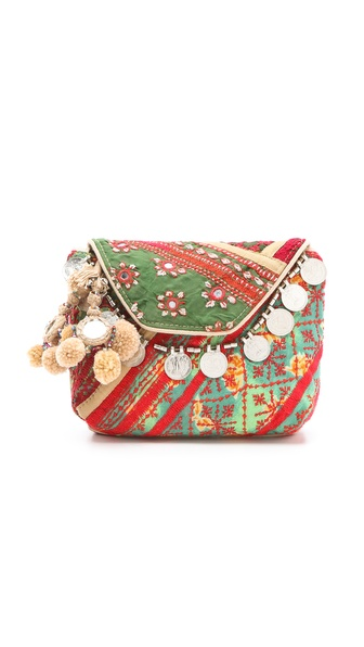 Antik Batik Banjo Clutch