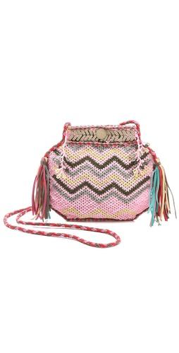 Antik Batik Merro Beaded Bag