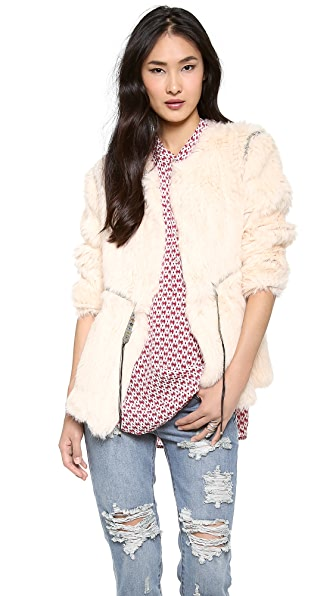 Antik Batik Marlon Fur Jacket
