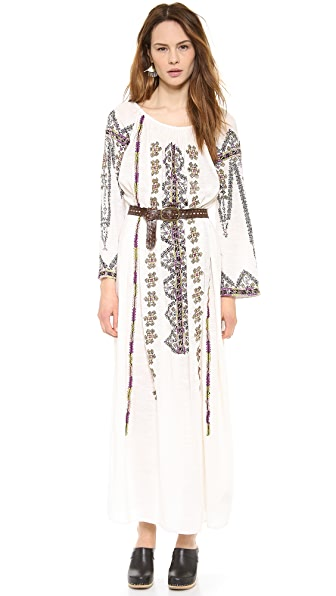 Antik Batik Tolata Embroidered Dress