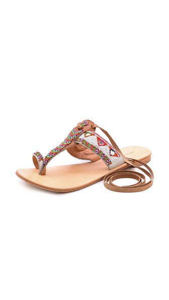 Antik Batik Adonis Beaded Sandal