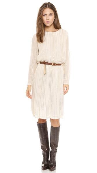 Kupi Antik Batik haljinu online i raspordaja za kupiti Antik Batik Romina Sequins Dress Cream online