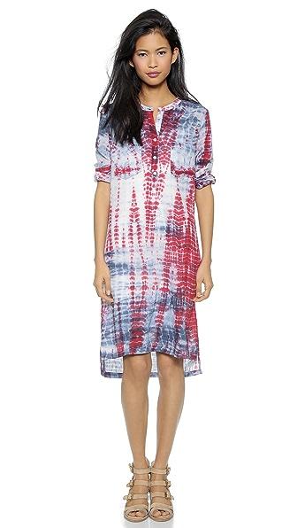 Kupi Antik Batik haljinu online i raspordaja za kupiti Antik Batik Video Djellabah Dress Indigo online
