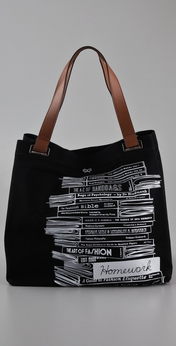 Anya Hindmarch Large Homework Tote