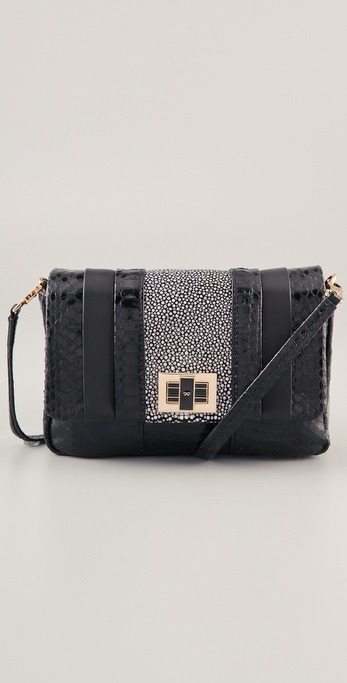Anya Hindmarch Mini Gracie Snakeskin Bag