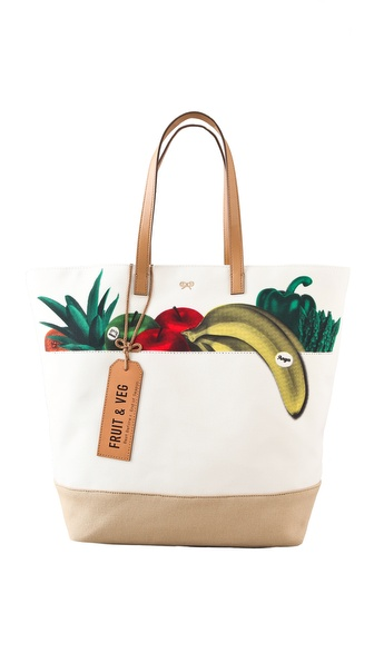 Anya Hindmarch Fruit & Vegetables Tote