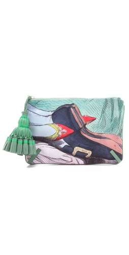Anya Hindmarch Courtney Valentine Clutch