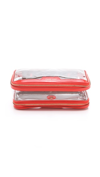 Anya Hindmarch Inflight Wash Cosmetics Case