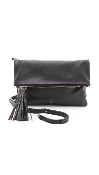 Anya Hindmarch Huxley Clutch - Black