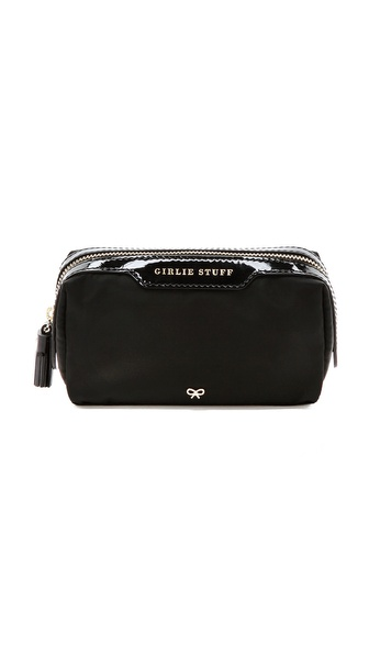 Anya Hindmarch Girlie Stuff Washbag - Black