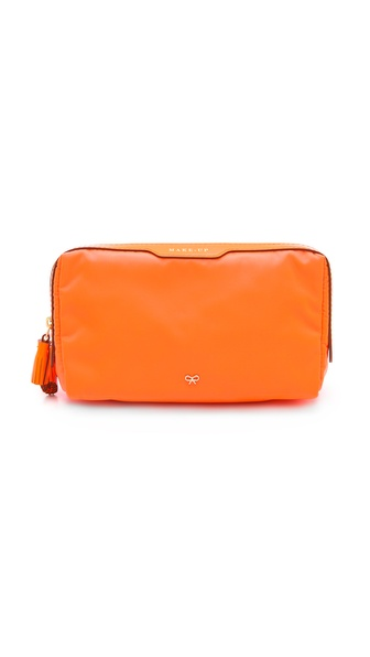 Anya Hindmarch Small Make Up Bag - Clementine