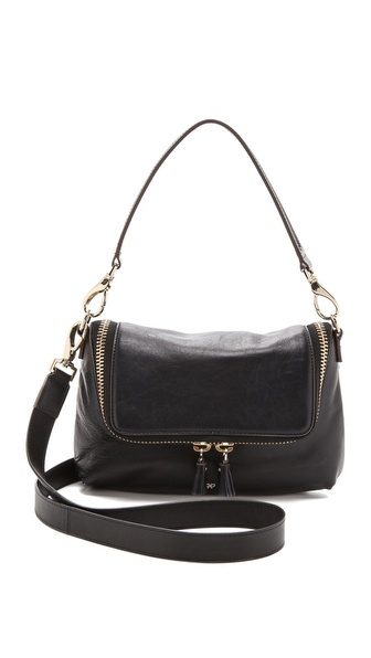 Anya Hindmarch Maxi Zip Cross Body Bag - Navy