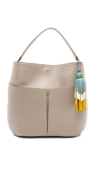 Anya Hindmarch Nevis Zipper Hobo Bag