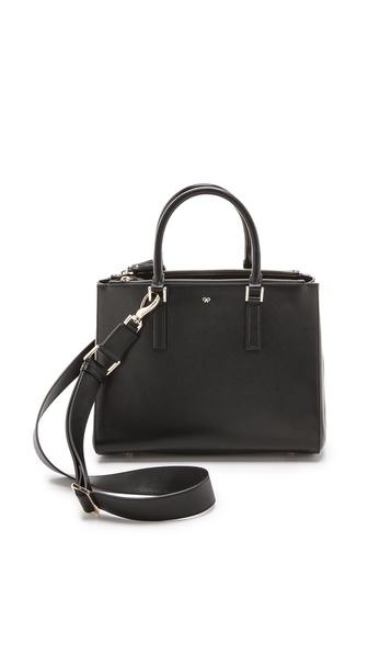 Anya Hindmarch Ebury Handbag - Black