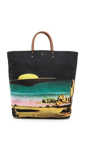 Anya Hindmarch Earl Star Cruiser Tote - Multi