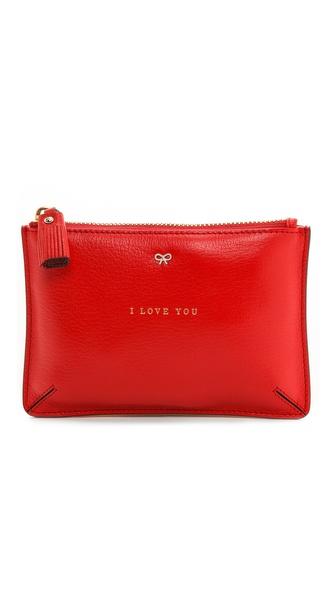 Anya Hindmarch Loose Pocket I Love You Bag